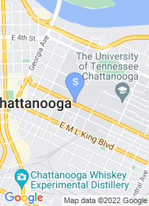 University of Tennessee Chattanooga map
