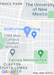 Central New Mexico Community College map