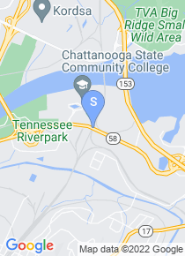 Chattanooga State Community College map