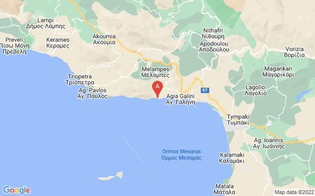 Google Map of AGIOS GEORGIOS