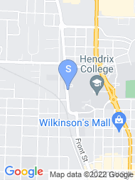 Hendrix College map