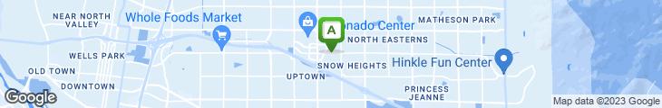 Map of TGI Friday's