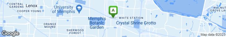 Map of Huey's Restaurant
