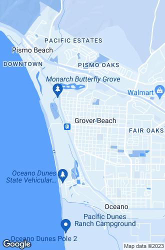 Map of Grover Beach