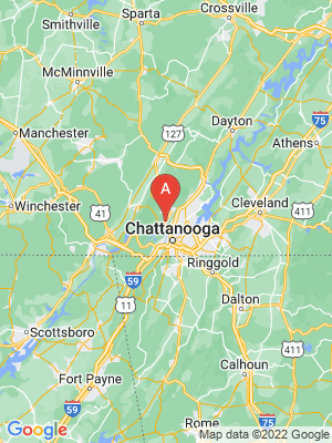 NEW HOMES map in Signal Mountain, Tennessee, USA