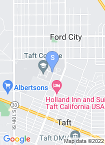 Taft College map