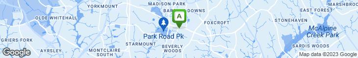 Map of Fairview Plaza Restaurant