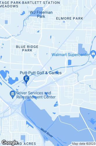 Map of Memphis