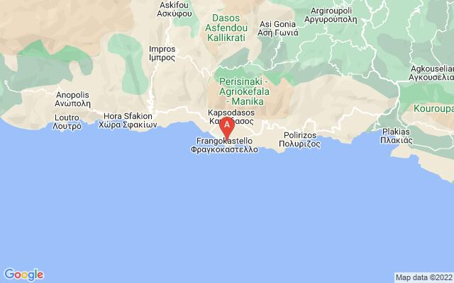 Google Map of FRAGOKASTELO