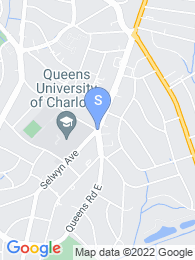 Queens University of Charlotte map