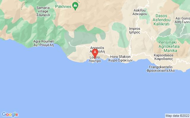 Google Map of LOUTRO CHANIA