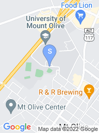 Mount Olive College map