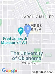 University of Oklahoma Norman map