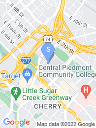 Central Piedmont Community College map