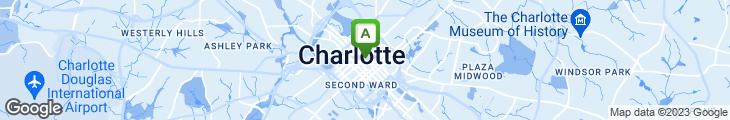 Map of Blue Restaurant