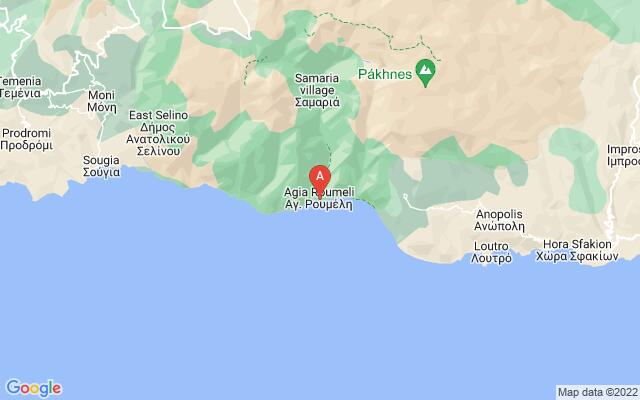 Google Map of AGIA ROUMELI