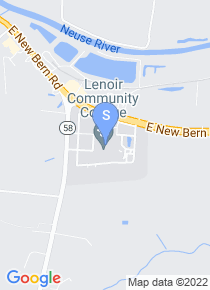 Lenoir Community College map