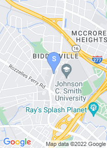 Johnson C Smith University map