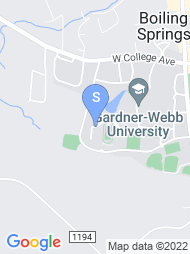 Gardner Webb University map