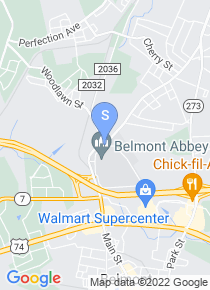 Belmont Abbey College map
