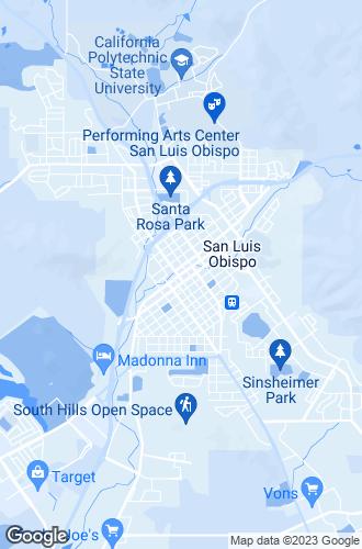 Map of San Luis Obispo