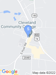 Cleveland Community College map