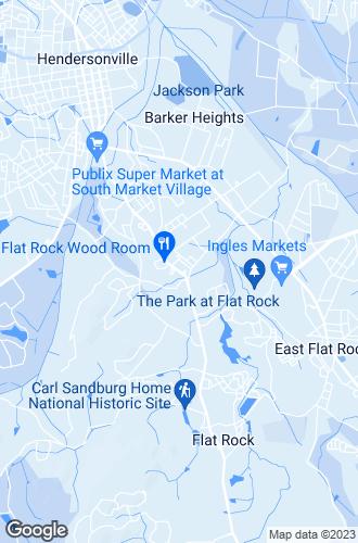 Map of Hendersonville