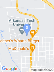 Arkansas Tech University map