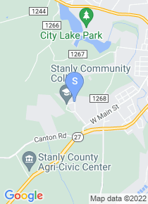 Stanly Community College map