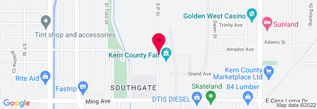 Map for Kern County Fairgrounds