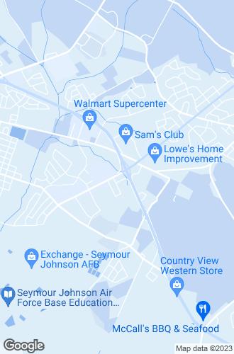 Map of Goldsboro