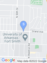 UA Fort Smith map