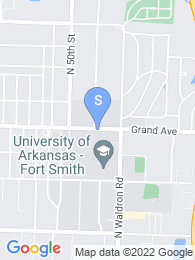 University of Arkansas Fort Smith map