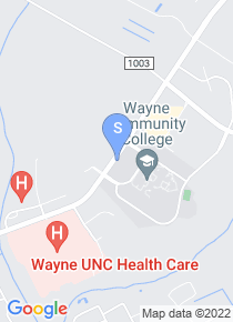 Wayne Community College map