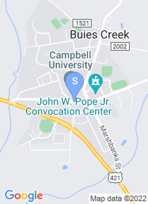 Campbell University map