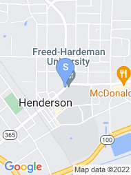 Freed Hardeman University map