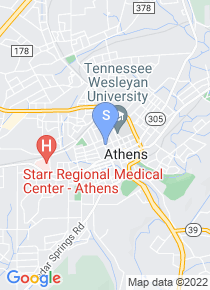 Tennessee Wesleyan College map