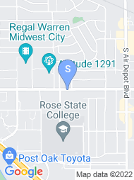 Rose State College map