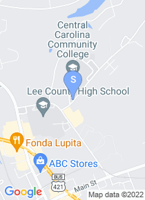Central Carolina Community College map