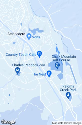 Map of Atascadero