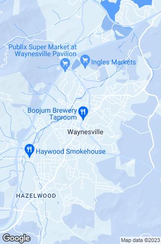 Map of Waynesville