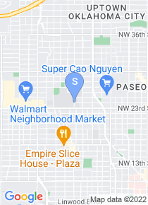 Oklahoma City University map