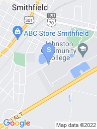 Johnston Community College map