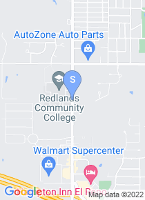 Redlands Community College map
