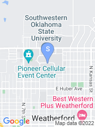 Southwestern Oklahoma State University map