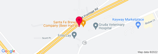 Map for Santa Fe Sol/santa Fe Brewing Co.