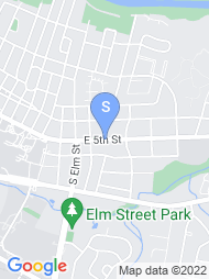 East Carolina University map