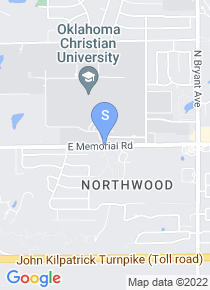 Oklahoma Christian University map