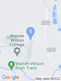 Warren Wilson College map