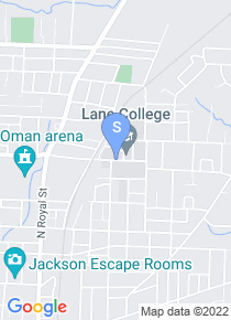 Lane College map